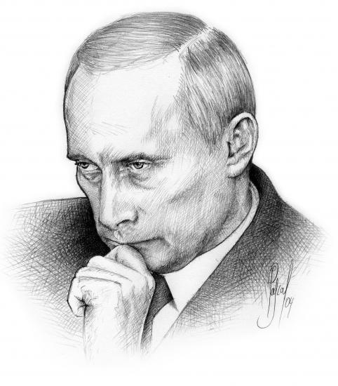 Vladimir Putin par Pastis